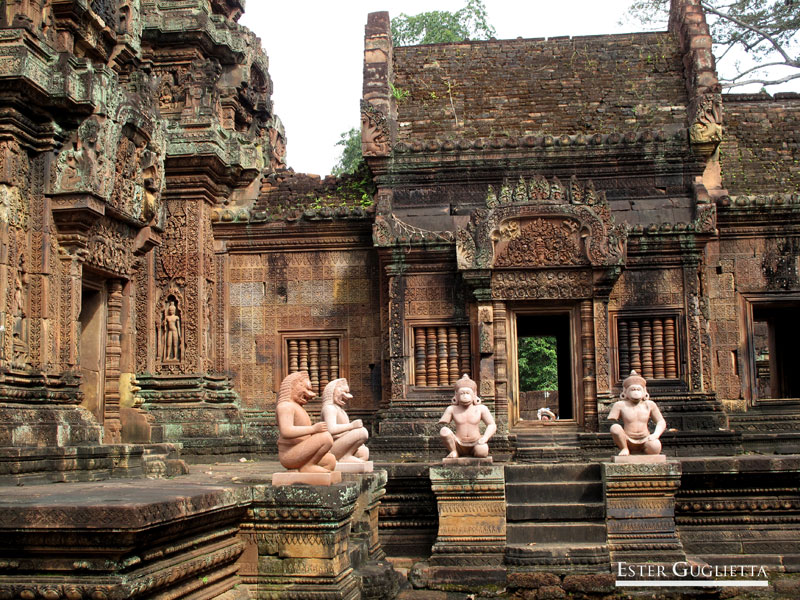 Banteay Srei templo